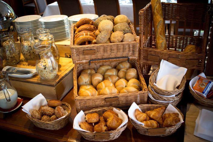 bread rolls, all kinds of pastries and of course pretzels